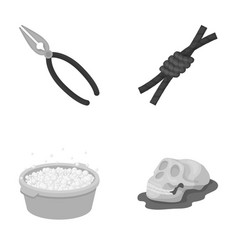 history cleaning and other monochrome icon in vector image