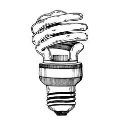 Lamp engraving vector