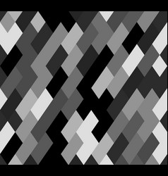Seamless mosaic pattern with slanting rectangles vector