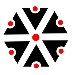 symbols of perun vector image