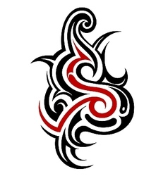 Tribal Tattoo Letters Vector Images Over 240