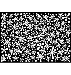 Flower-blobs vector image