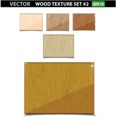 nature wood texture old set isolated vector image vector image