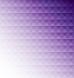 Abstract purple mosaic design background vector