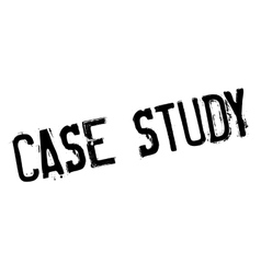 Case study rubber stamp vector