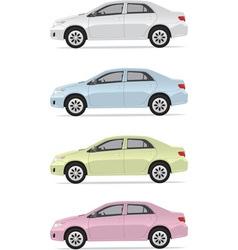 City cars vector