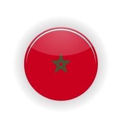 Morocco icon circle vector