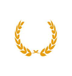 winner badge grain graphic design element template vector image
