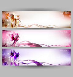 colorful women flower vector image