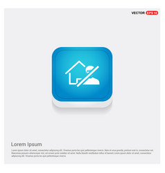 Do not enter icon vector