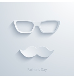 fathers day background vector image