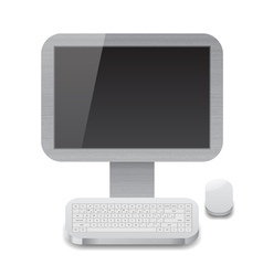 Icon for personal computer vector image