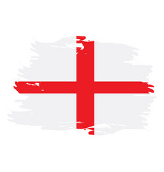 Isolated english flag vector