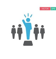 Leader Icon vector image