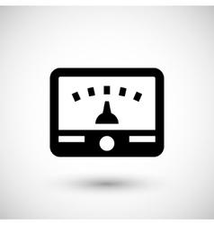 Meter icon symbol vector