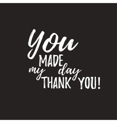 Set of badges with thank you vector