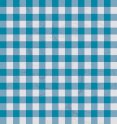 Table cloth blue vector