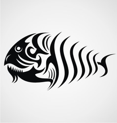Tribal Fish vector