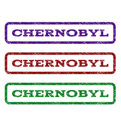 chernobyl watermark stamp vector image vector image