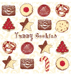 Christmas Cookies vector