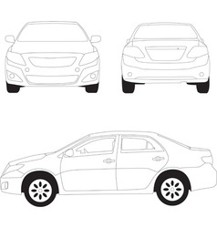 City car vector