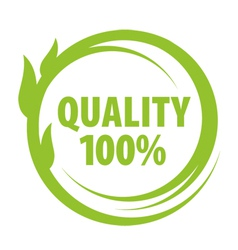 mark of outstanding quality vector image