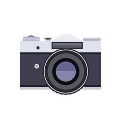 Old retro camera vector