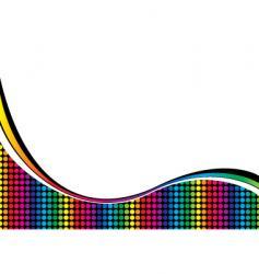 Rainbow curve vector