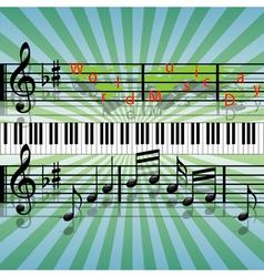 World music day vector