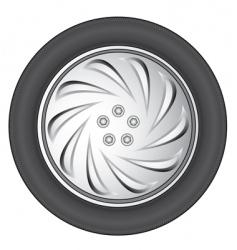 Wheel vector