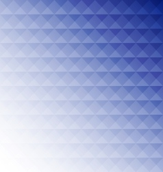 Abstract blue mosaic design background vector