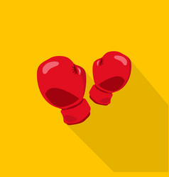 boxing icon set of great flat icons with style vector image