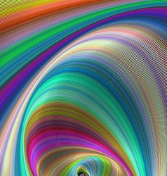 Colorful dream - abstract computer generated art vector