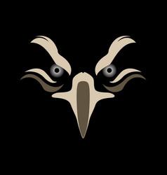 Eagle head image vector