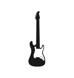 electric guitar graphic design element vector image