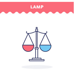 libra icon flat design ui icon vector image