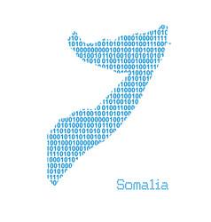 map somalia vector image