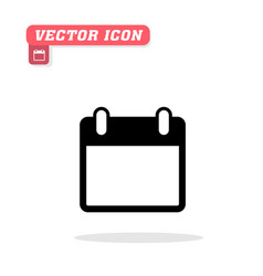 memo note icon white background imag vector image