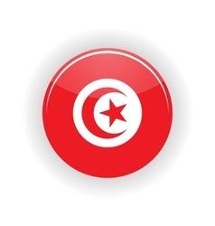 Tunisia icon circle vector