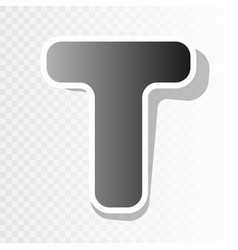 letter t sign design template element new vector image