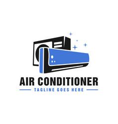 Air conditioning repair logo vector
