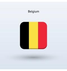 Belgium flag icon vector