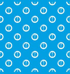 Face powder female pattern seamless blue vector