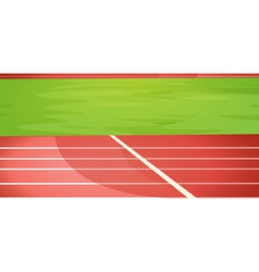 Track lanes vector image