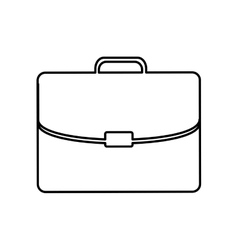 Business briefcase pictogram icon vector