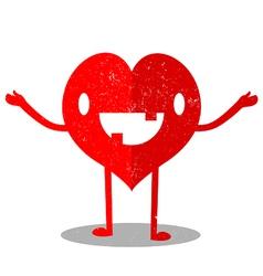 Heart Cartoon vector image vector image