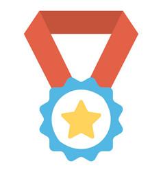 Achievement medal vector