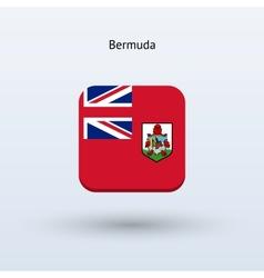 Bermuda flag icon vector