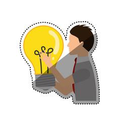 Bulb light energy vector