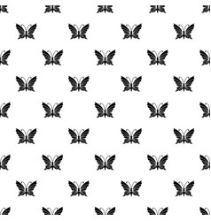 butterfly with antennae icon simple style vector image